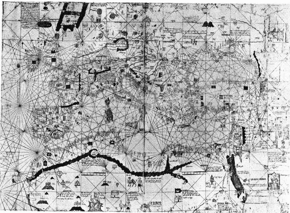 Колумб и древние карты