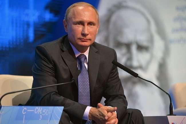 Владимир Путин на Форум Общероссийского народного фронта «Качественное образование во имя страны»
