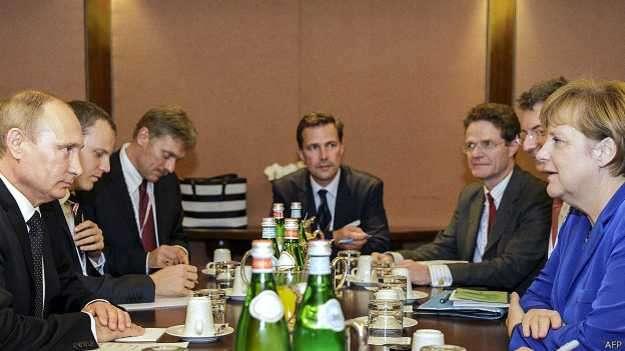 Владимир Путин в Милане привёл «партнёров» в чувства