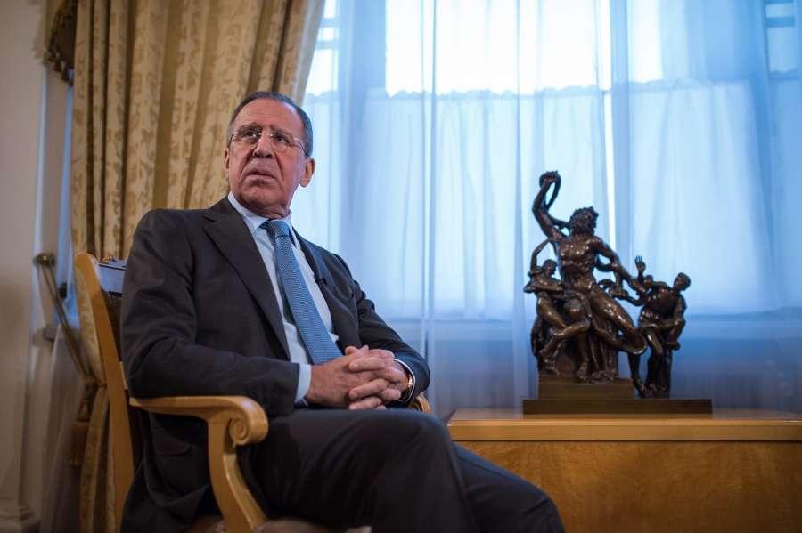 Интервью Сергея Лаврова о текущем положении России в Мире
