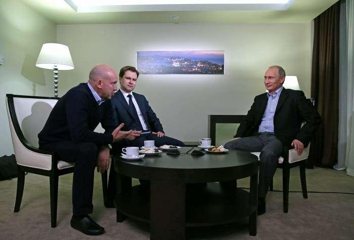 Президент России Владимир Путин рассказал кое-что о себе