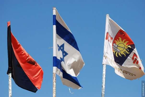 флаг правый сектор, израиль.jpg