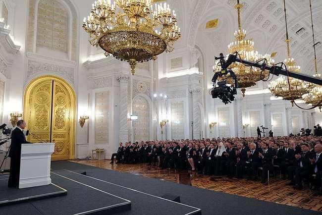 Послание Президента РФ Владимира Путина Федеральному Собранию 4 декабря 2014 года
