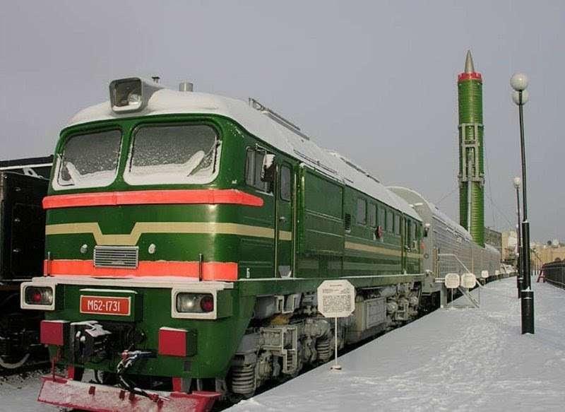 Железнодорожные ракетные комплексы – надёжная защита России