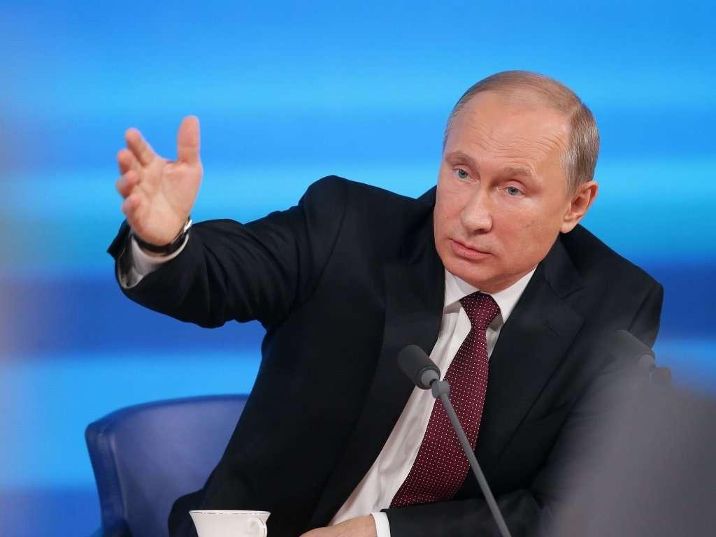 Ежегодная пресс-конференция Президента России Владимира Путина