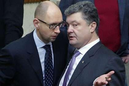 Пир гиен-3. Сколько Яценюк и Порошенко уже заработали на войне?