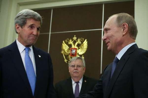 Керри приезжал не мириться, а нападать на Россию