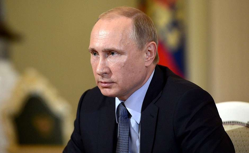 Интервью Владимира Путина итальянской газете Il Corriere della Sera