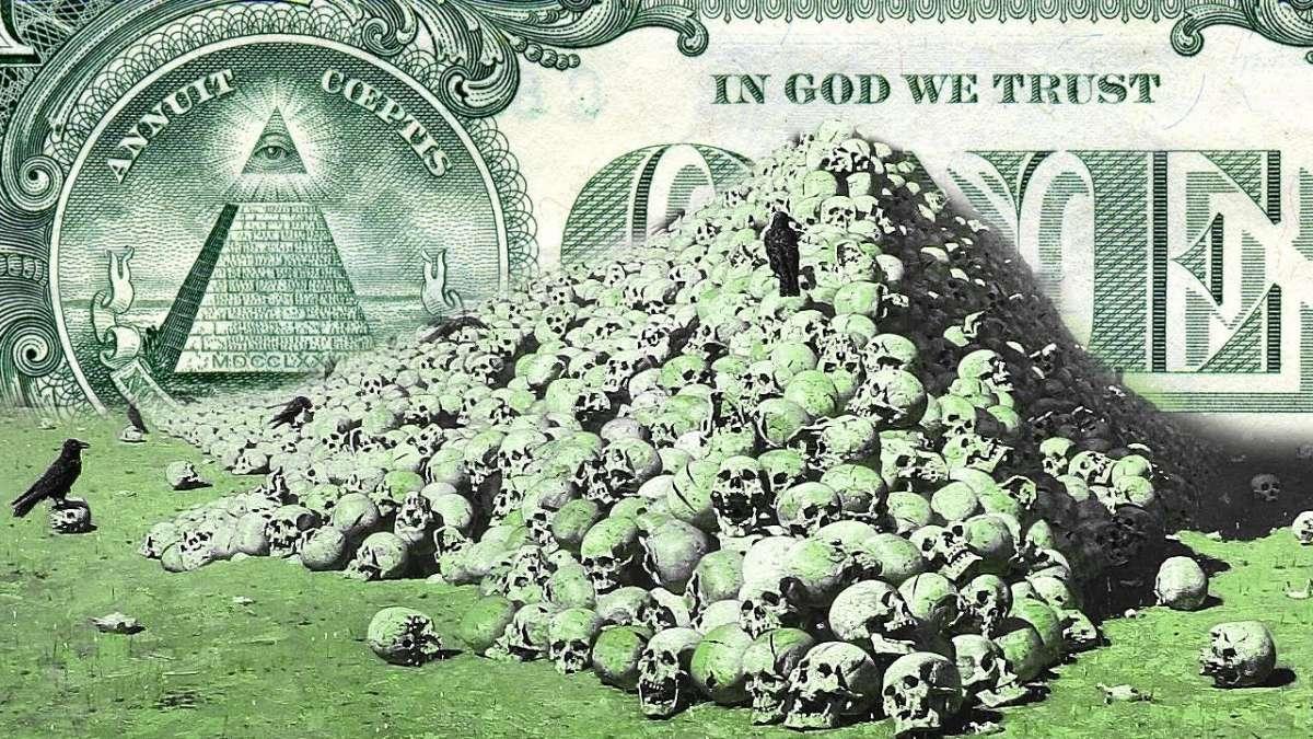 Мировой паразитизм – это ужасный, кровожадный монстр