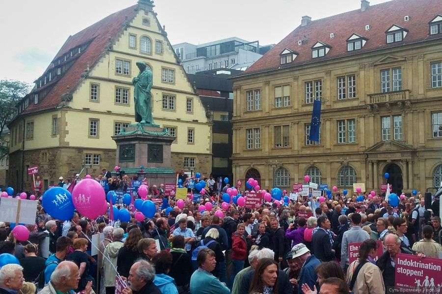 Немцы борются с педерастией, навязываемой еврейским правительством