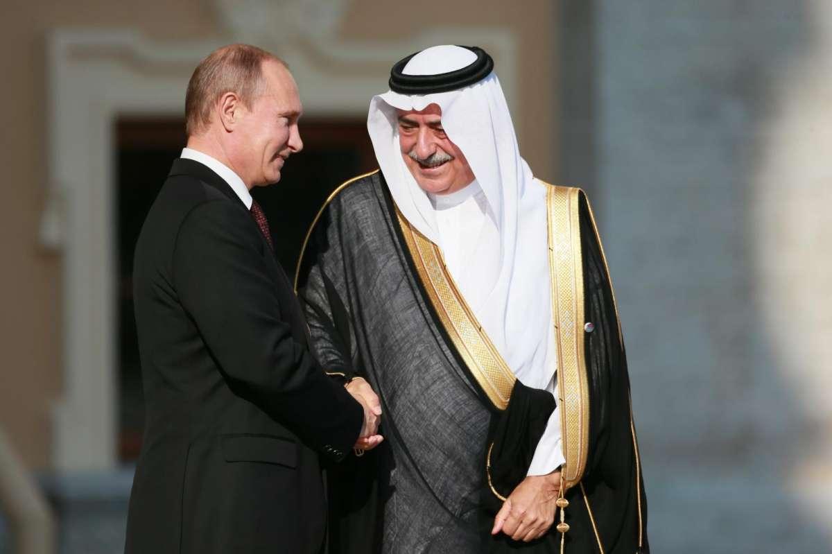 Саудиты наконец начали кое-что понимать и прибежали в Москву спасаться