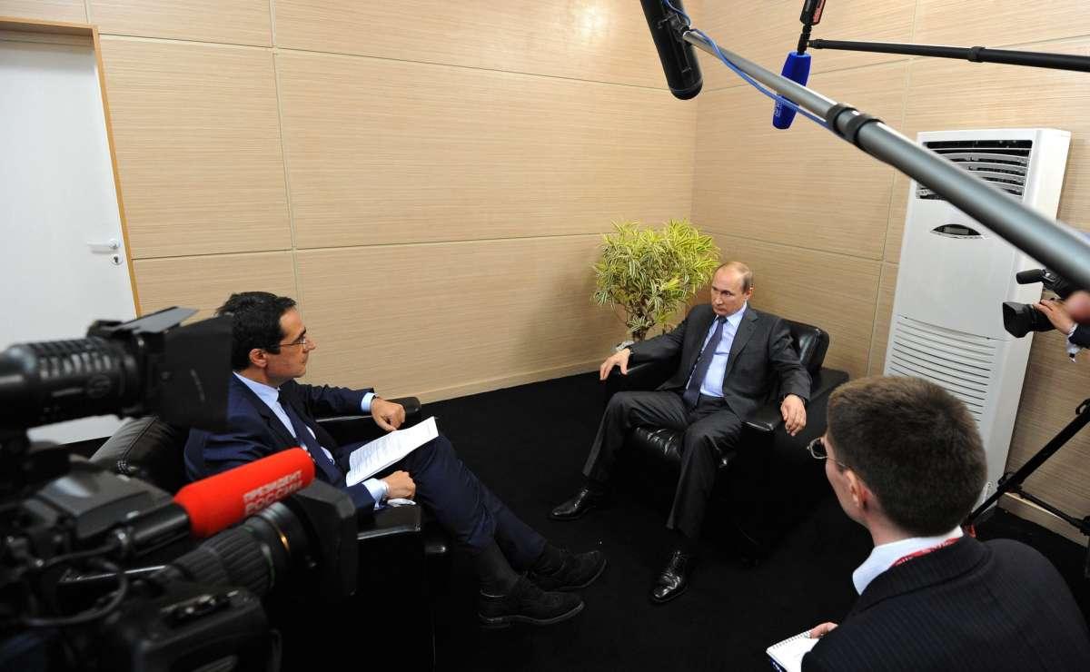 Интервью Президента РФ Владимира Путина швейцарским СМИ