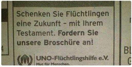 Сейчас хорошо видно, что немецкая власть относится к немецкому народу очень враждебно! Из-за каких-то чужаков у немцев отнимают жильё, социальные пособия, даже религию! Эта проблема требует пристального изучения специалистами