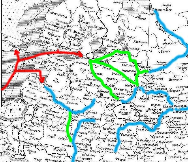 Войны Екатерины II против Руси и русов были продуманы и едва заметны