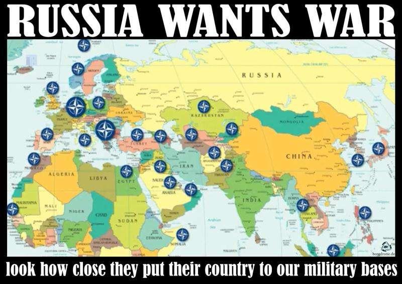 Банда паразитов – НАТО – строит планы нападения на Россию
