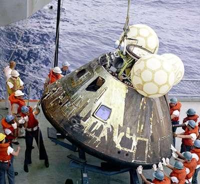 «Аполлон-13» оказался афёрой, как и вся американская космонавтика