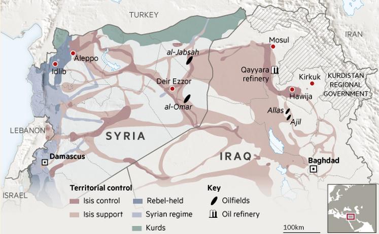 США и Израиль руками ИГ постоянно сбивают цены на нефть