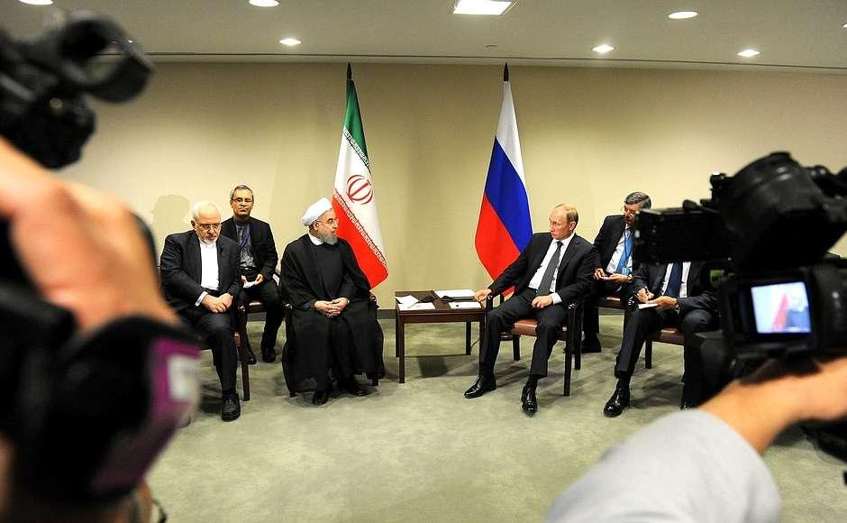 Россия и Иран сотрудничают ради взаимной безопасности и мира