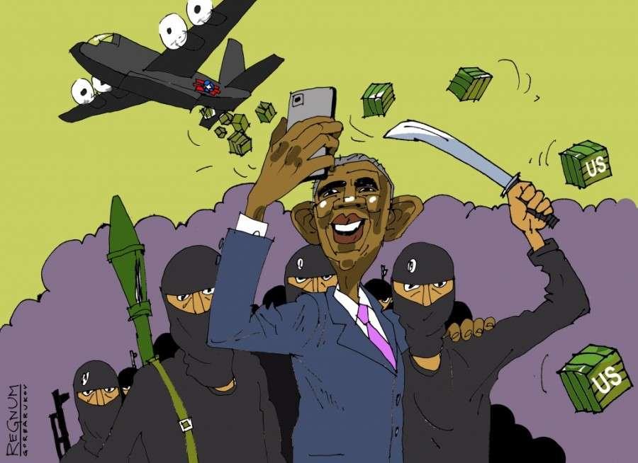 Террористы – это наёмники паразитического Запада для грязной работы