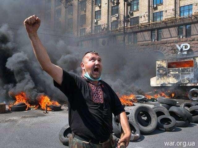 Украинская Хунта начала уничтожать радикалов