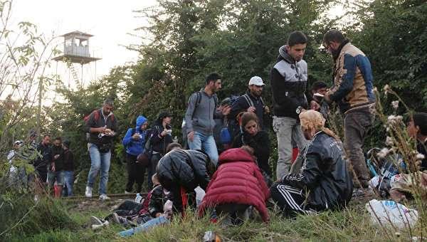 Беженцы направляются в Европу умелой рукой по выбранным маршрутам