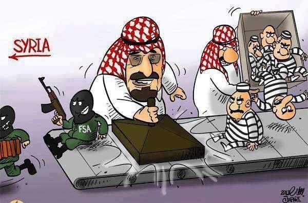 Катар сегодня взять нечем – он находится под крышей главного паразита