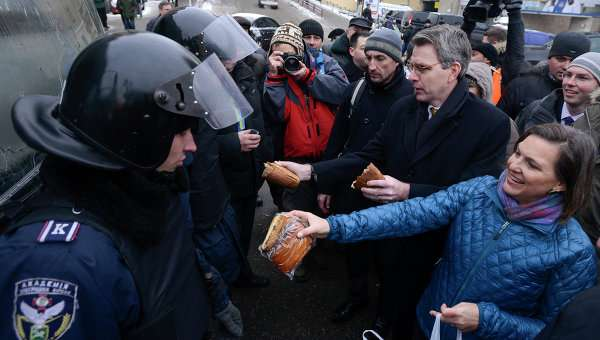 Под видом Майдана на Украину было осуществлено вторжение США