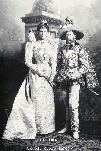 Царь Николай II работал ещё и Георгом V