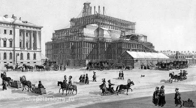 Рисунки Монферрана о строительстве в СПб – полуграмотные выдумки. Часть 2