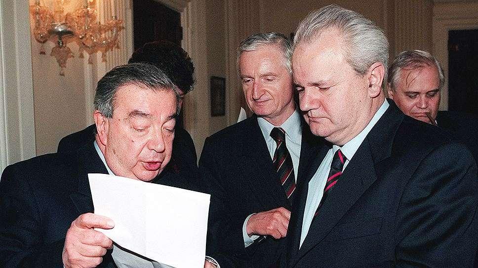 Слободан Милошевич был убит в тюрьме гаагского трибунала
