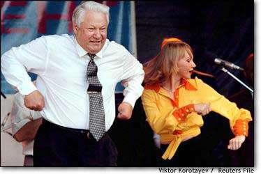 Воровской Запад грабил Россию руками Ельцина и его подручных