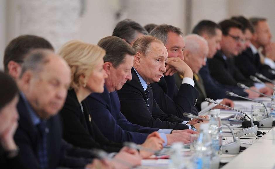 Владимир Путин провёл заседание Российского оргкомитета «Победа»