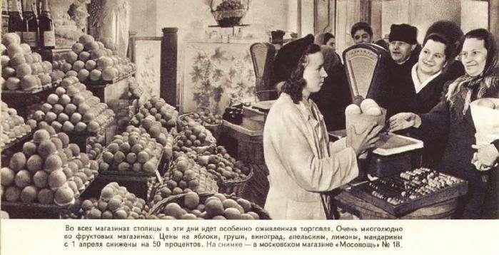 дефицит продуктов в СССР