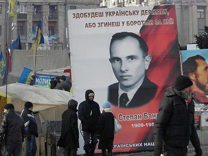 Степан Бандера- икона Майдана.