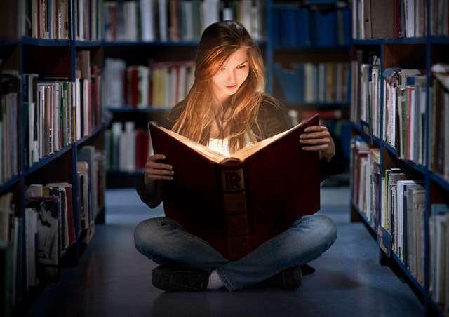 Чтение даёт человеку разумность