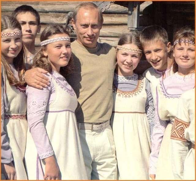 Русский народ потому добрый, что он более сильный и взрослый, чем остальные