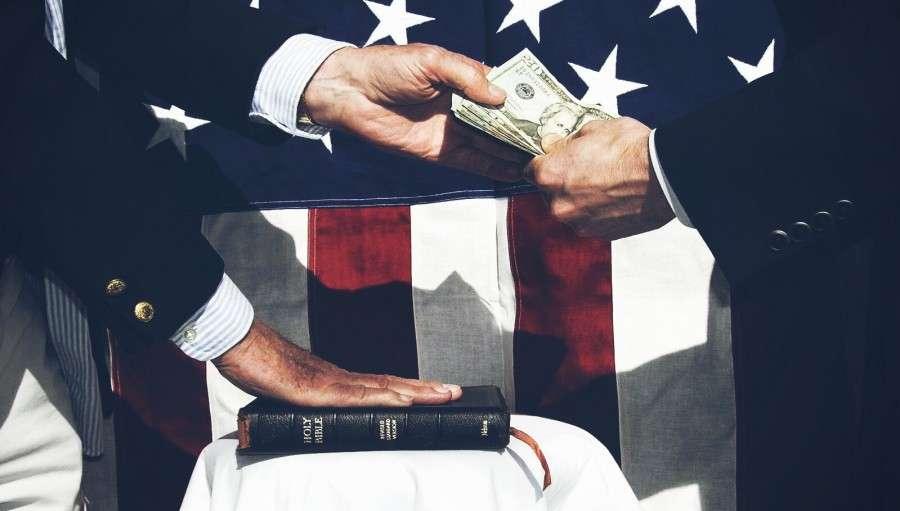 Бандитизм и коррупция пришли в наш мир от паразитов