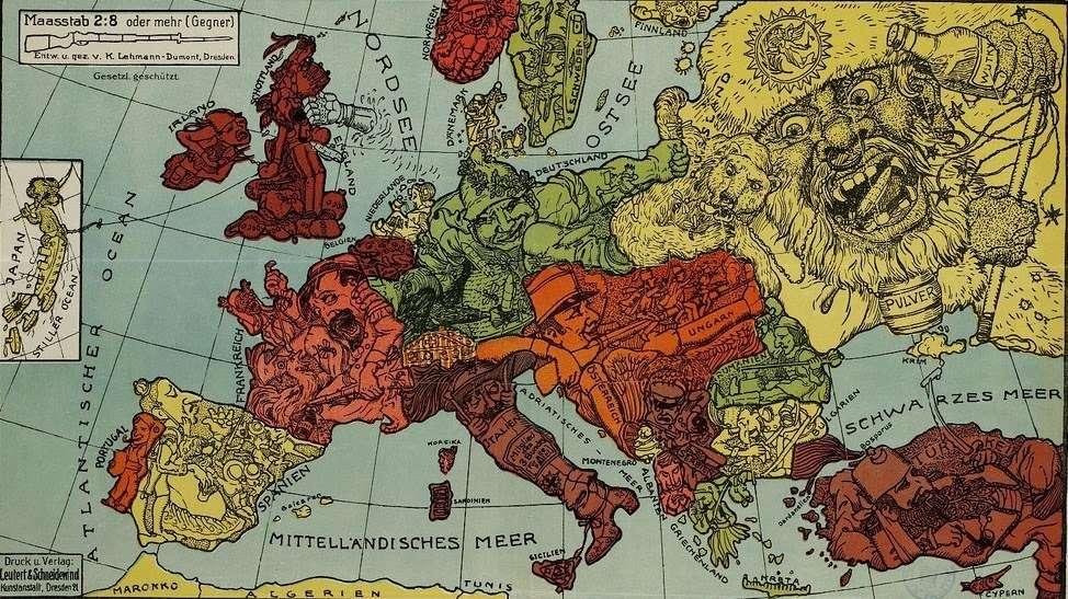 Маленькая Европа – это большой, грязный крысятник