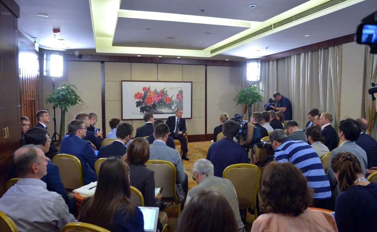 Президент России Владимир Путин ответил на вопросы журналистов