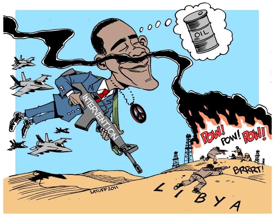 В Ливии паразиты освоили новый вид грабительской войны