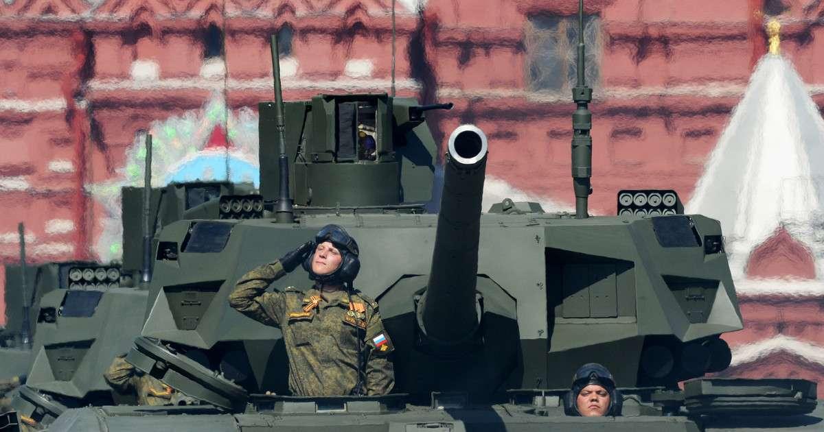 «Армата» – самый передовой и эффективный танк в Мире
