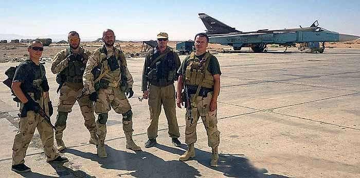 В Сирии воюет ЧВК Дмитрия Уткина из России «Группа Вагнера»