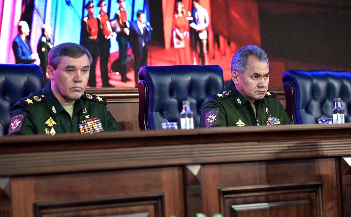 Владимир Путин выступил на расширенной коллегии Министерства Обороны