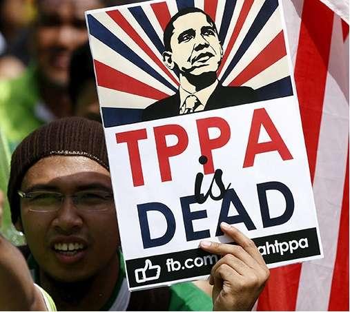 США убило ТТП.Гегемония паразитов рушится