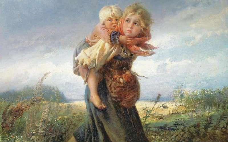Воспитание девочек на Руси