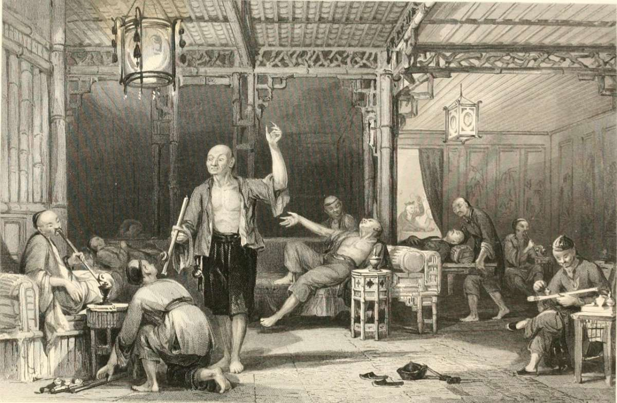 Как паразиты во главе с британской королевской семьей устроила опиумный геноцид китайцам