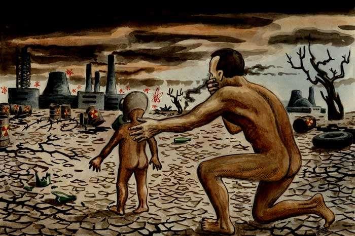 Радиоактивный привет потомкам от обманутых паразитами предков