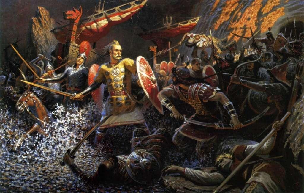 Как Князь Святослав Храбрый разбил паразитическую Хазарию