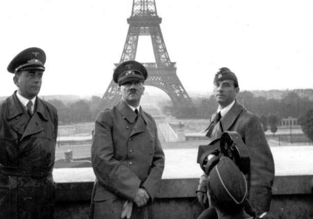 Франция во Второй мировой войне сражалась на стороне фашистской Германии