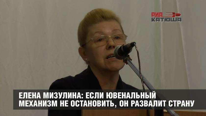 В России создан механизм ювенальной юстиции, разваливающий страну